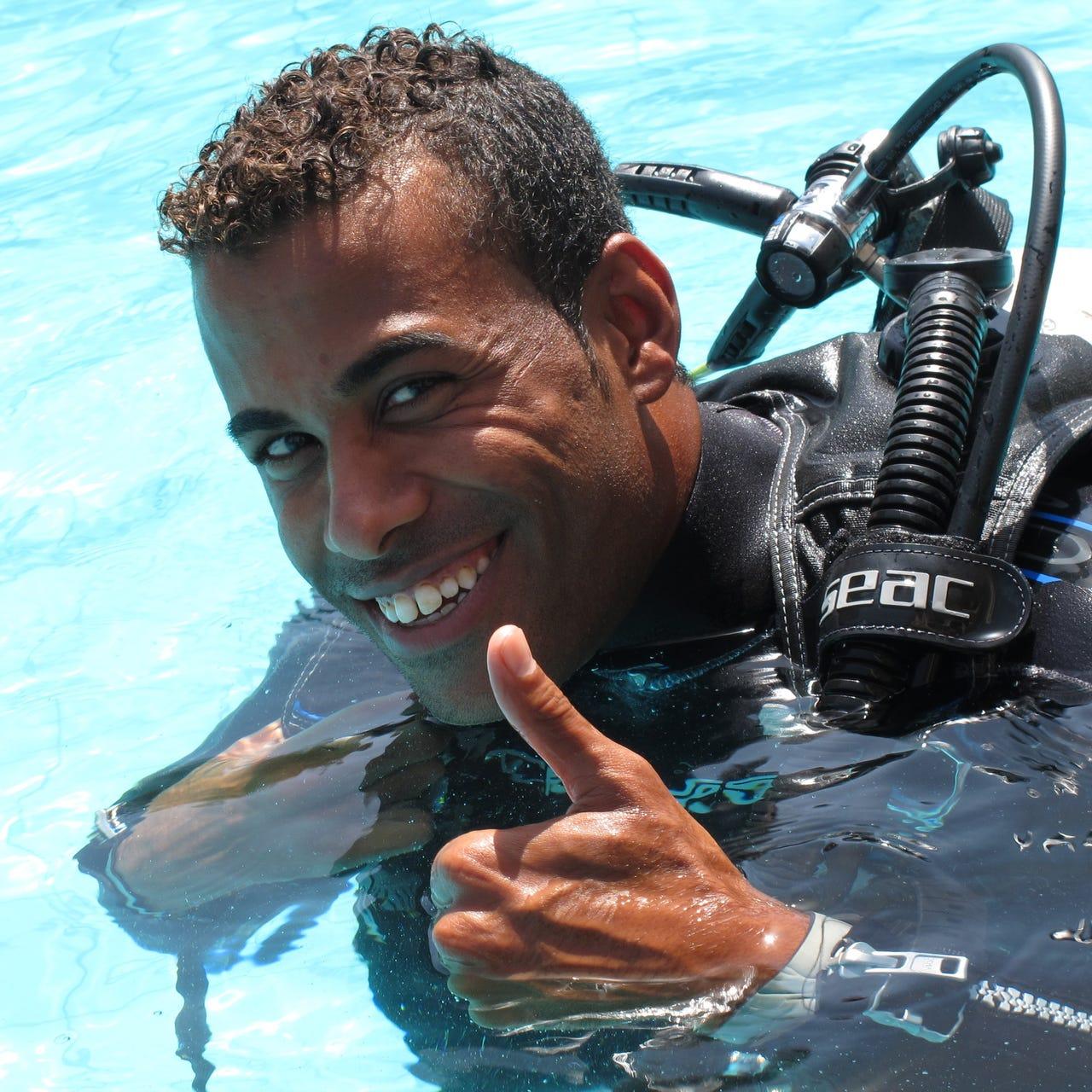 Khaled Bijou Duiken-Hurghada Seagate