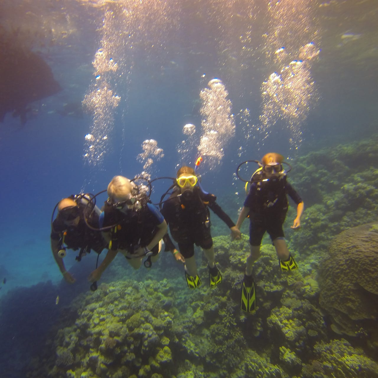 Seagate Hurghada Duiken familie