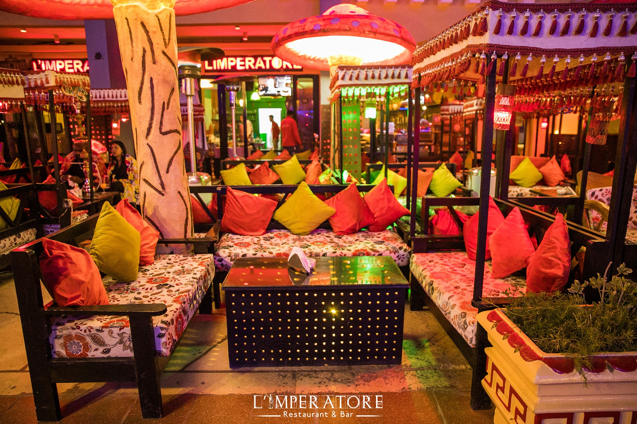 Duiken Hurghada Seagate, eten in Hurghada, L'imperatore
