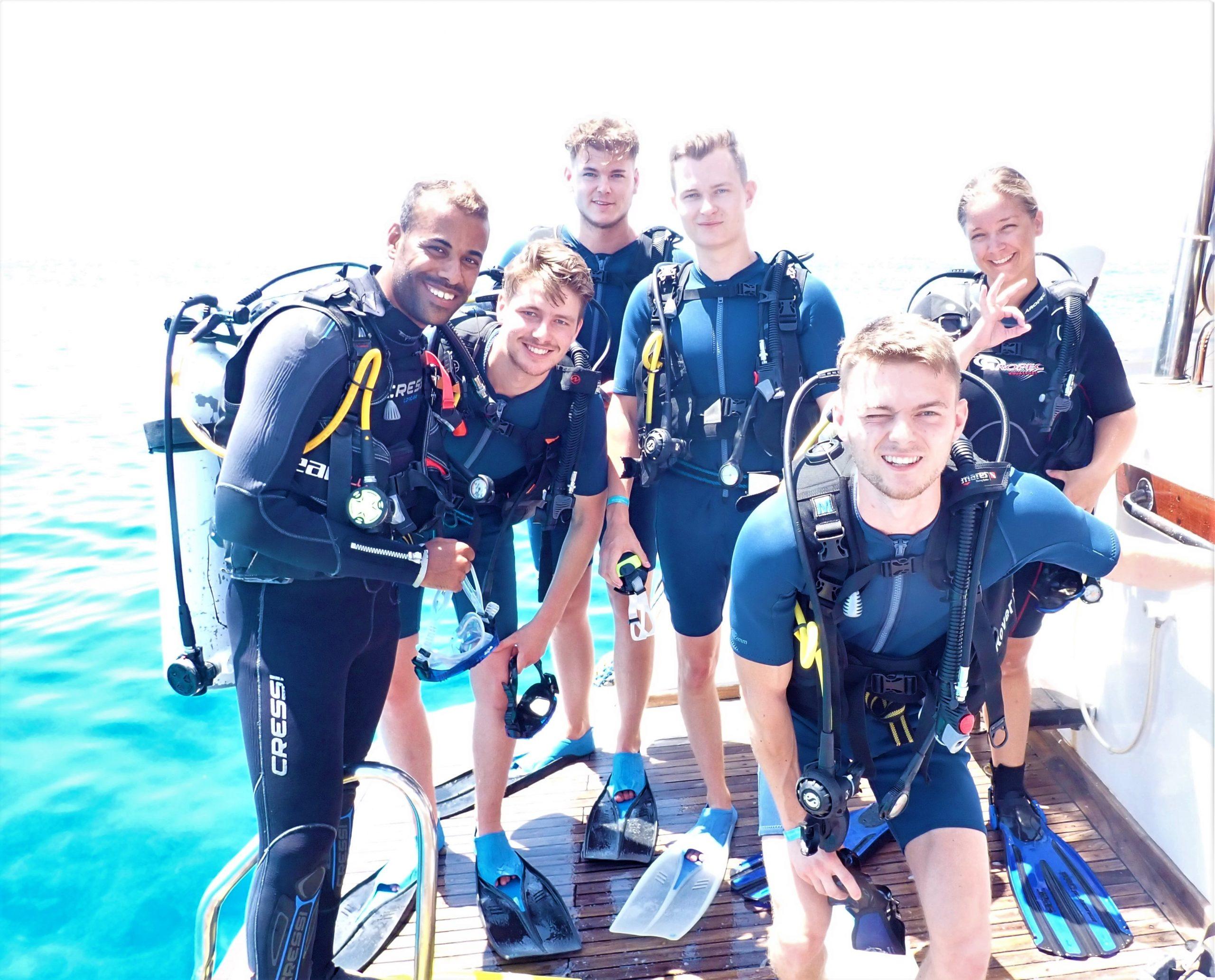 Dag duiken in Hurghada
